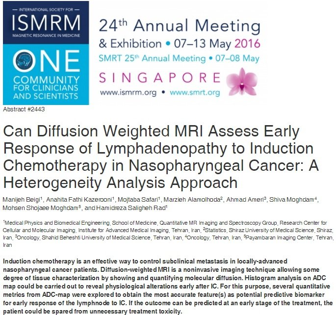 Can Diffusion Weighted MRI Assess Early Response of Lymphadenopathy to Induction Chemotherapy in Nasopharyngeal Cancer: A Heterogeneity Analysis Approach